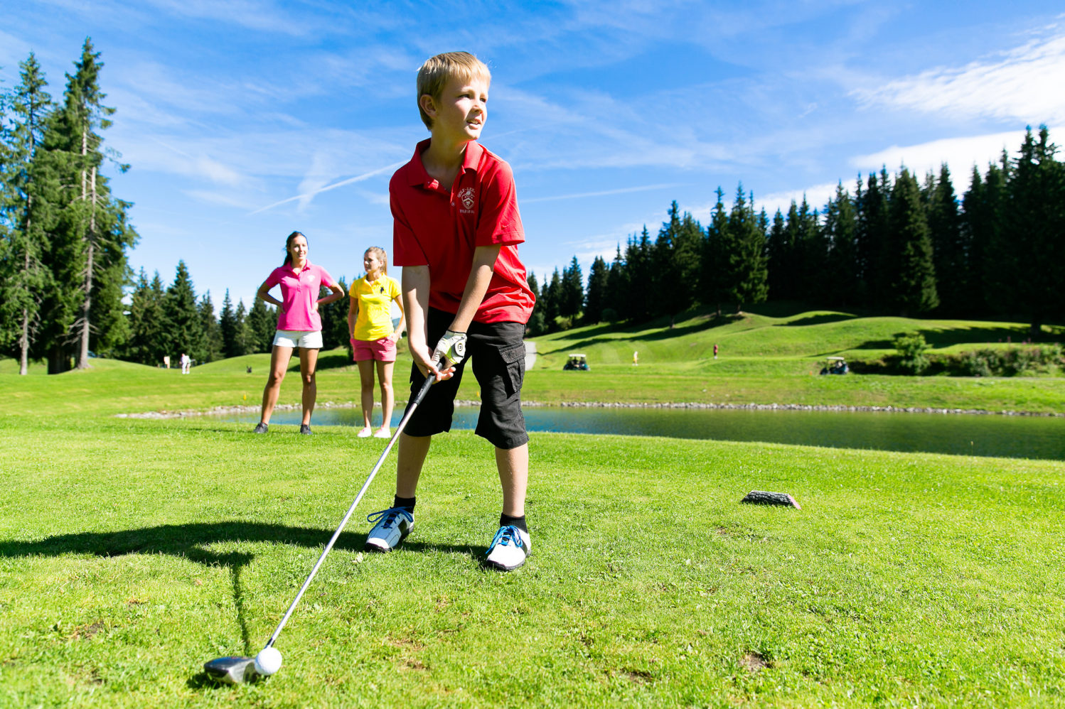 Kids Golf Lesgets