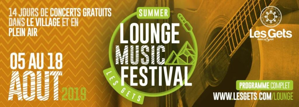 lounge music festival Les Gets 2019