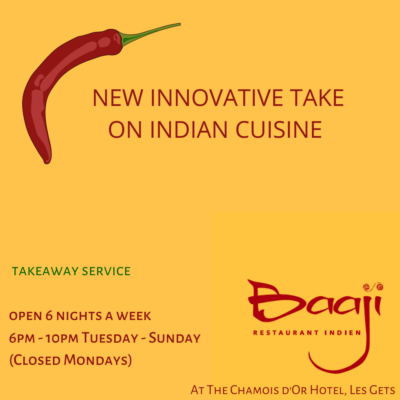 Baaji Indian Restaurant, Les Gets